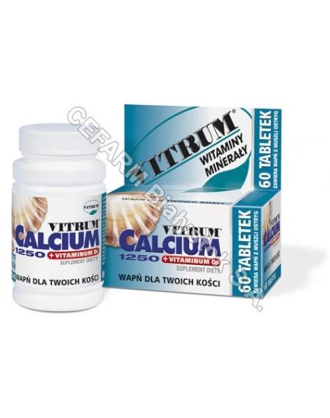 UNIPHARM Vitrum calcium 1250 + vit.d3 x 30 tabl