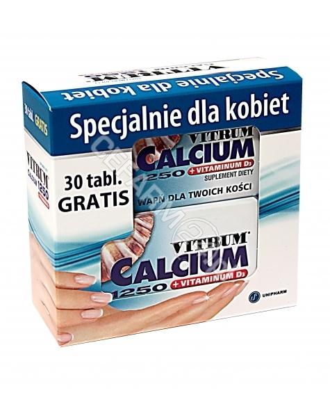 UNIPHARM Vitrum calcium 1250+vit.d3 x 120 tabl + 30 tabl GRATIS !!!