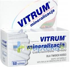 UNIPHARM SP. Z O.O. Vitrum Calcium 600 Witamina D400 x 60 tabletek