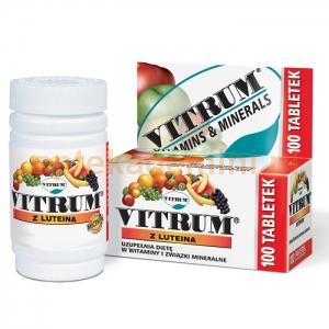 UNIPHARM Vitrum Energia i Odporność (z luteiną), 100 tabletek