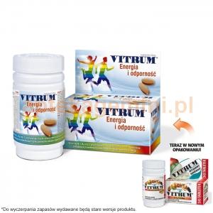 UNIPHARM Vitrum Energia i Odporność (z luteiną), 30 tabletek