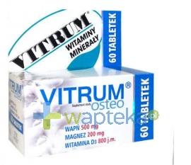 UNIPHARM SP. Z O.O. VITRUM OSTEO 60 tabletek