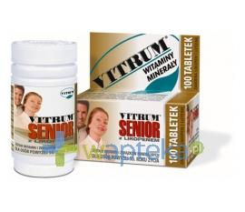 UNIPHARM SP. Z O.O. Vitrum Senior z likopenem 100 tabletek
