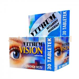 UNIPHARM SP. Z O.O. Vitrum Vision 30 tabletek