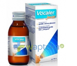 AFLOFARM FARMACJA POLSKA SP. Z O.O. Vocaler Junior płyn 100ml