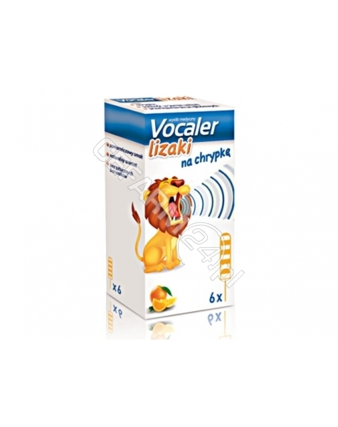 AFLOFARM Vocaler lizaki na chrypkę x 6 szt (data ważności <span class=