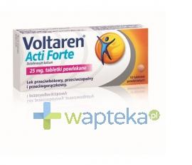 NOVARTIS CONSUMER HEALTH SA Voltaren Acti Forte 10 tabletek