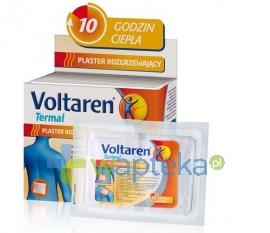 NOVARTIS CONSUMER HEALTH SA VOLTAREN TERMAL Plastery rozgrzewające 20 sztuk
