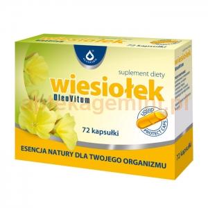 OLEOFARM Wiesiołek OleoVitum, 72 kapsułki