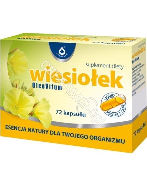 OLEOFARM Wiesiołek x 72 kaps