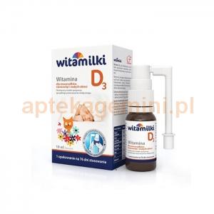 COLFARM Witamilki, Witamina D3, aerozol dla dzieci od pierwszych dni życia, 10ml