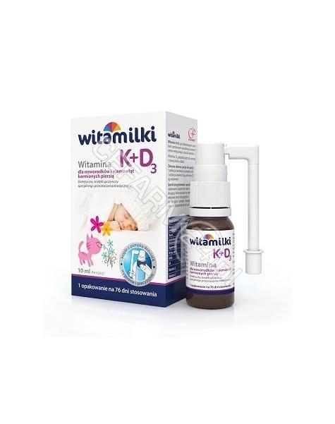 COLFARM Witamilki witamina k+d3 aerozol 10 ml (data ważności <span class=