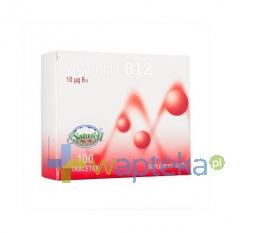 NATURELL POLSKA SP.Z O.O. Witamina B12 - 100 tabletek Naturell