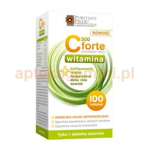 HOLBEX Witamina C 500 Forte, 100 tabletek
