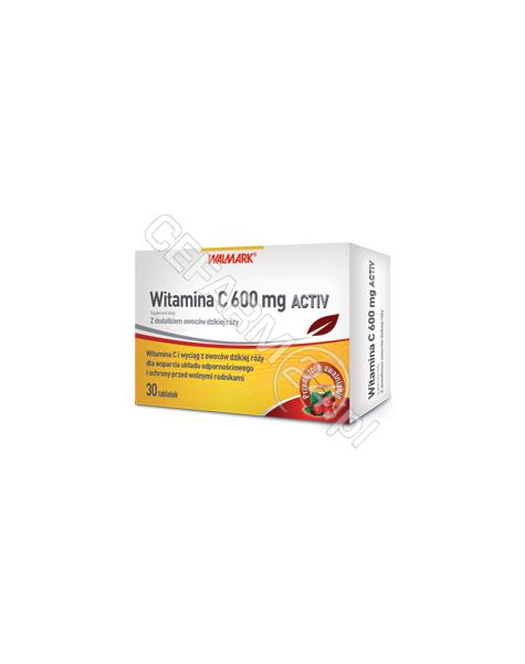 WALMARK Witamina c activ 600 mg x 30 tabl