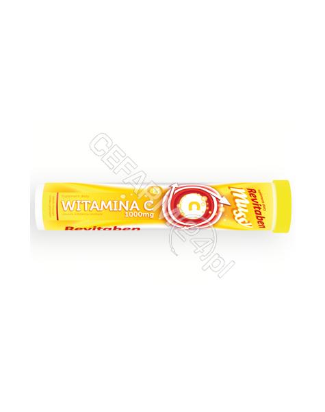 NORD FARM Witamina c revitaben mussy 1000 mg x 20 tabl musujących