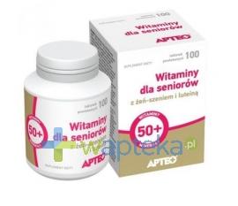 SYNOPTIS PHARMA SP. Z O.O. Witaminy dla seniorów 100 tabletek Apteo 18399