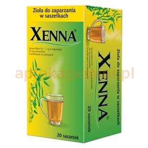 USP ZDROWIE Xenna Fix, herbatka, 20 saszetek