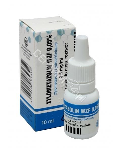 POLFA WARSZA Xylometazolin 0,05% krople 10 ml (Polfa Warszawa)