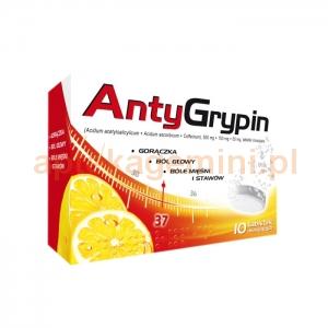 NATUR PRODUKT Zdrovit Antygrypin, 10 tabletek musujących
