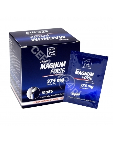 NP PHARMA Zdrovit magnum forte 375 mg x 20 sasz