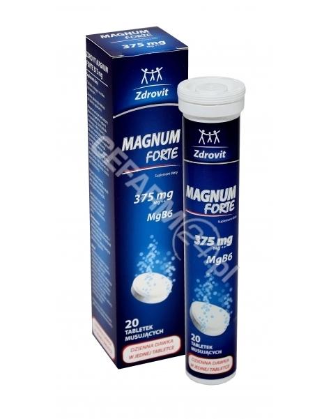 NP PHARMA Zdrovit magnum forte 375 mg x 20 tabl musujących