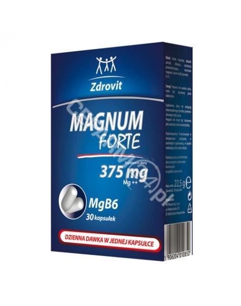 NATUR PRODUK Zdrovit magnum forte 375 mg x 30 kaps