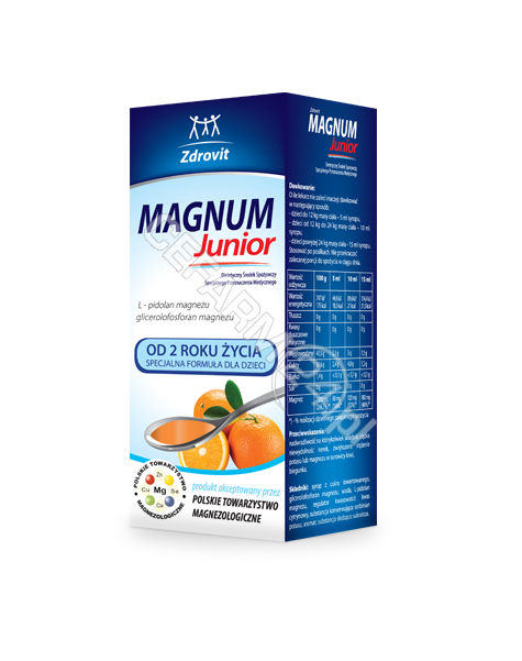 NP PHARMA Zdrovit magnum junior syrop 150 ml
