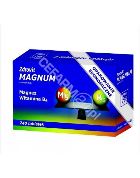NP PHARMA Zdrovit magnum x 240 tabl
