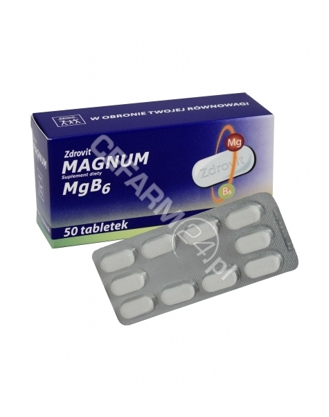 NP PHARMA Zdrovit magnum x 50 tabl