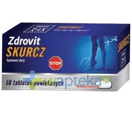 NATUR PRODUKT PHARMA SP. Z O.O. Zdrovit Skurcz 50 tabletek