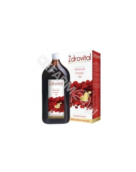 NATUR PRODUK Zdrovital tonik wzmacniający 900 ml