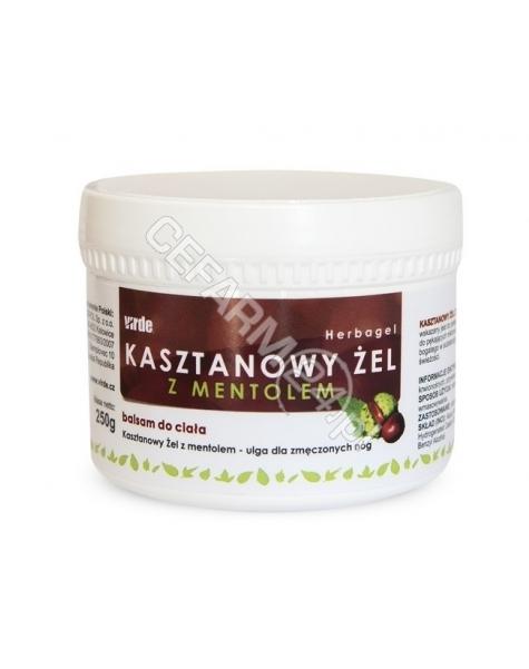 VIRDE Żel kasztanowy z mentolem 250 ml (Virde)