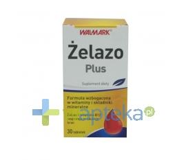 WALMARK Żelazo Plus 30 tabletek