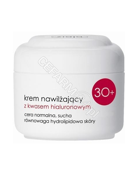 ZIAJA Ziaja 30+ krem nawilżający z kwasem hialuronowym 50 ml