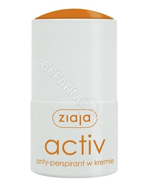 ZIAJA Ziaja anty-perspirant w kremie activ roll-on 60 ml