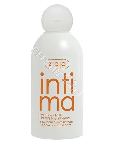 ZIAJA Ziaja intima kremowy płyn do higieny intymnej z kwasem askorbinowym 200 ml