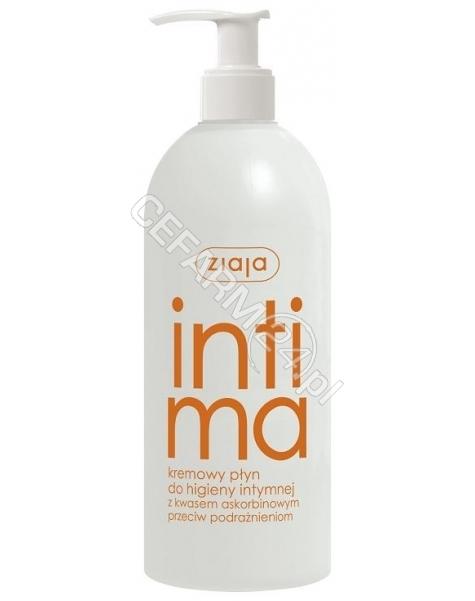 ZIAJA Ziaja intima kremowy płyn do higieny intymnej z kwasem askorbinowym 500 ml