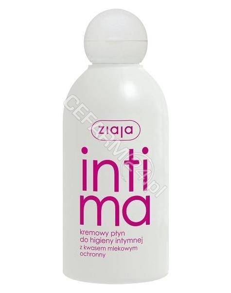 ZIAJA Ziaja intima kremowy płyn do higieny intymnej z kwasem mlekowym 200 ml