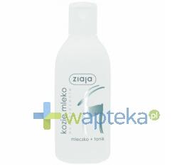 ZIAJA LTD. Z.P.L. ZIAJA Kozie Mleko Mleczko+tonik cera sucha+normalna 200ml
