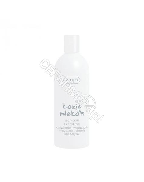 ZIAJA Ziaja kozie mleko szampon z keratyną 400 ml