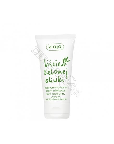 ZIAJA Ziaja liście zielonej oliwki - skoncentrowany krem oliwkowy spf-20 50 ml