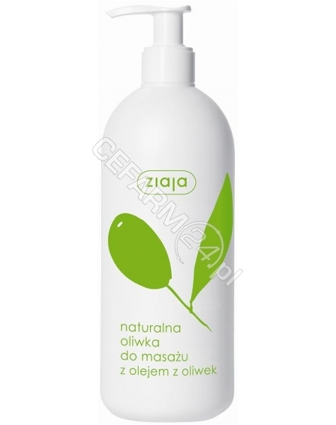 ZIAJA Ziaja oliwkowa - naturalna oliwka do masażu z olejem z oliwek 500 ml