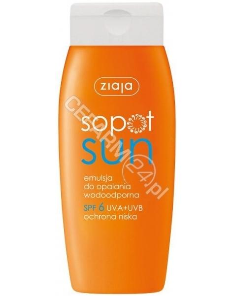 ZIAJA Ziaja sopot sun - wodoodporna emulsja do opalania spf 6 150 ml