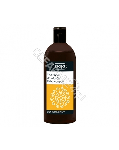 ZIAJA Ziaja szampon rodzinny Słonecznikowy do włosów farbowanych 500 ml