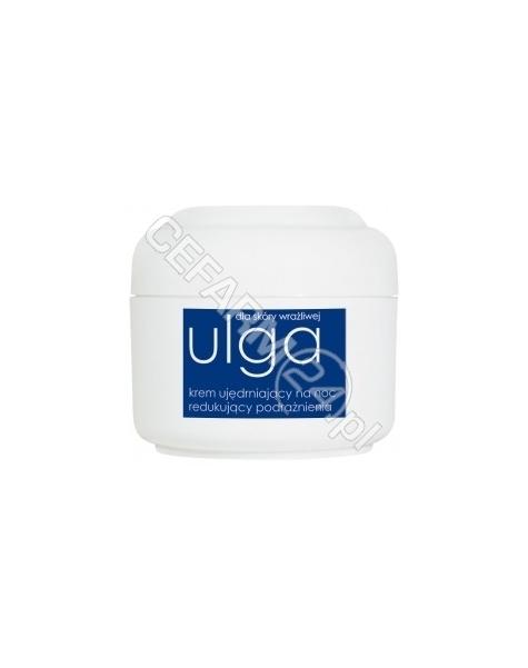 ZIAJA Ziaja ulga dla skóry wrażliwej - krem ujędrniający na noc redukujący podrażnienia 50 ml
