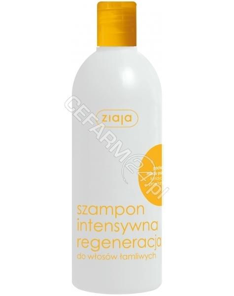 ZIAJA Ziaja włosy szampon intensywna regeneracja miód 400 ml