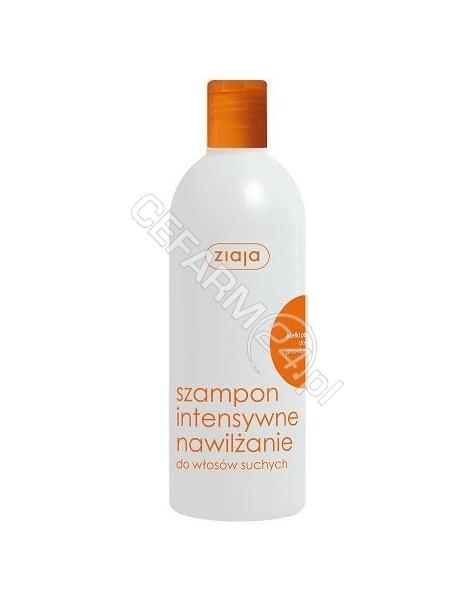 ZIAJA Ziaja włosy szampon intensywne nawilżanie kiełki pszenicy 400 ml