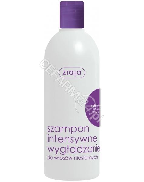 ZIAJA Ziaja włosy szampon intensywne wygładzanie jedwab 400 ml