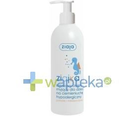 ZIAJA LTD. Z.P.L. ZIAJA ZIAJKA KREMOWY Olejek myjący dla dzieci na ciemienuchę 300 ml